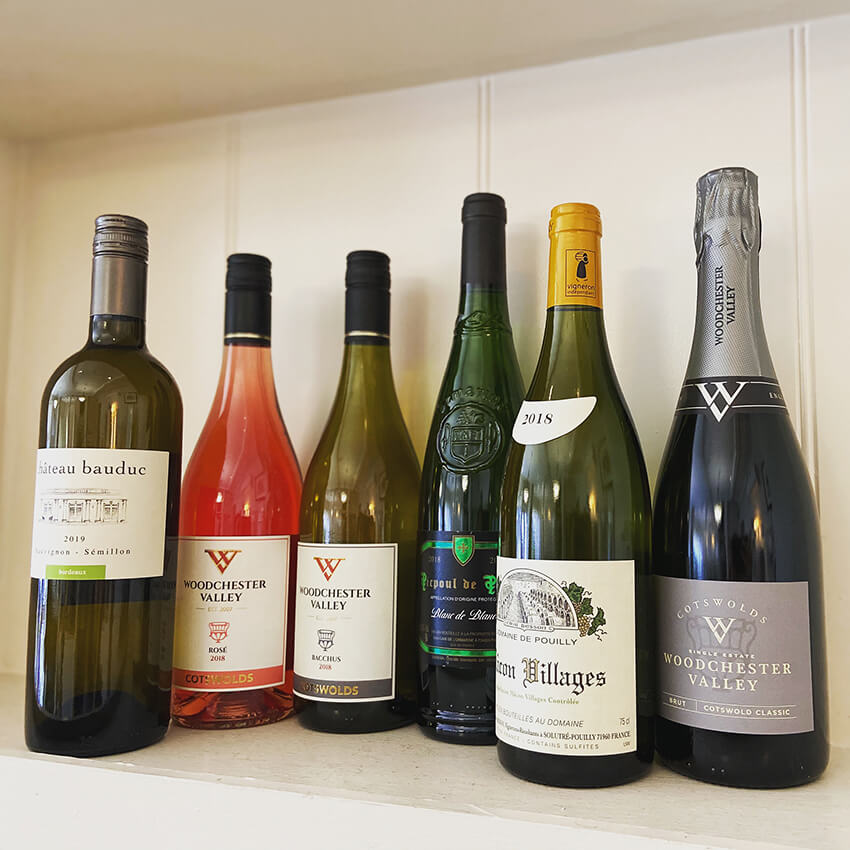 Selection of our favourite wines